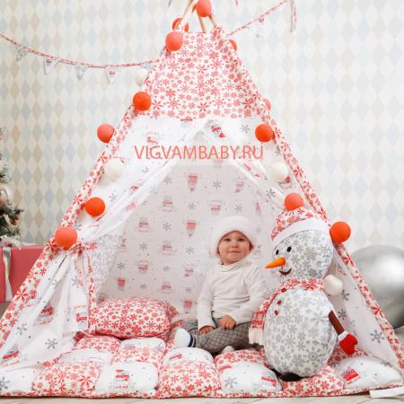 Вигвамы Детский ВИГВАМ Новогодний домик [tag]